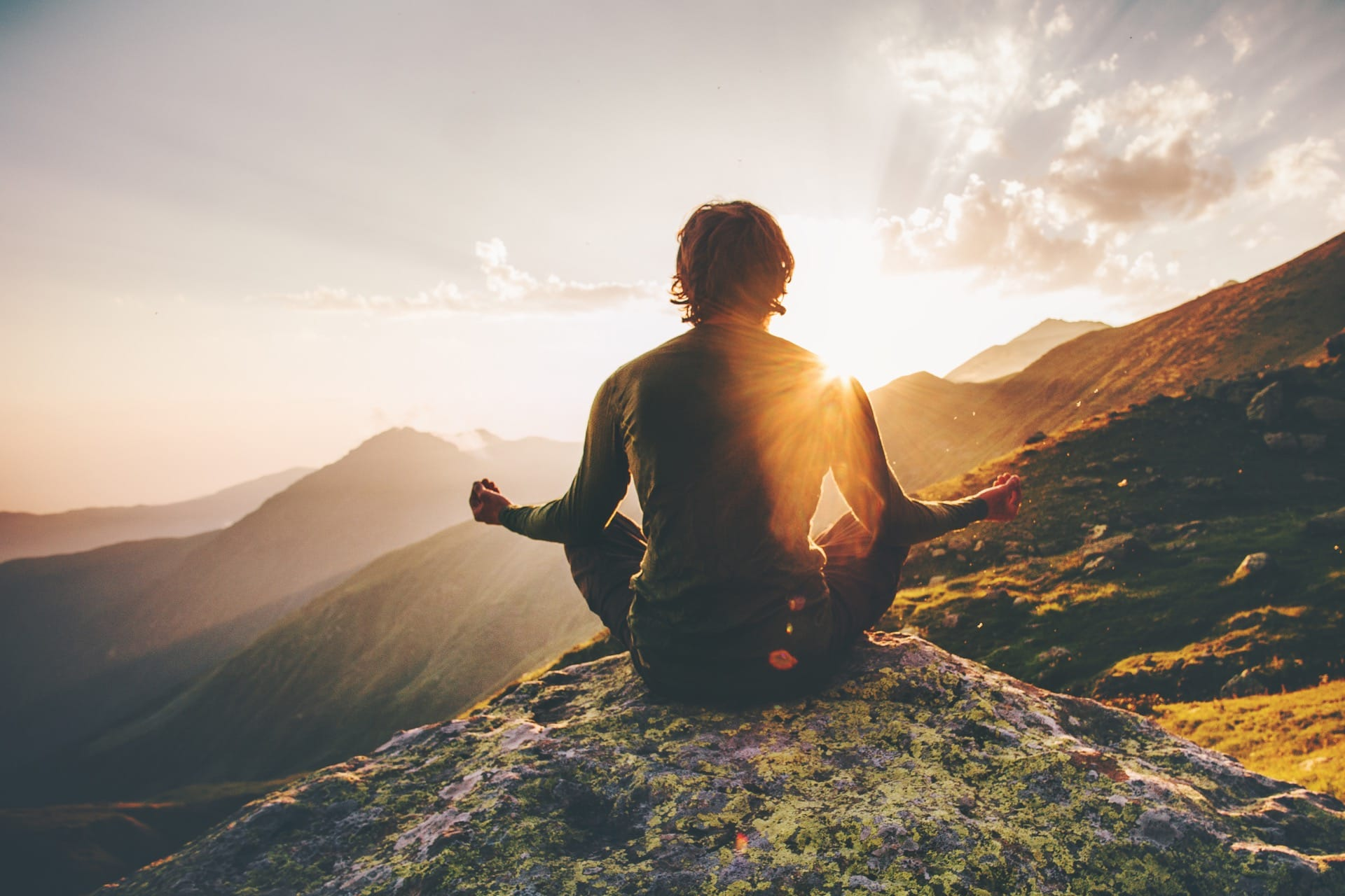Meditation can help you relax, reduce stress and cope with illness